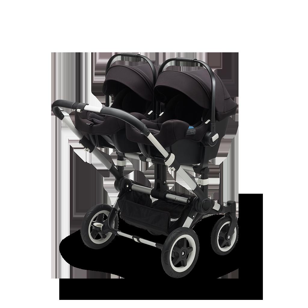 Bugaboo Donkey 2 Twin Car Seat Stroller